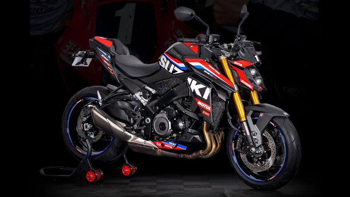 Suzuki Francia celebra el mundial de resistencia con este diseño