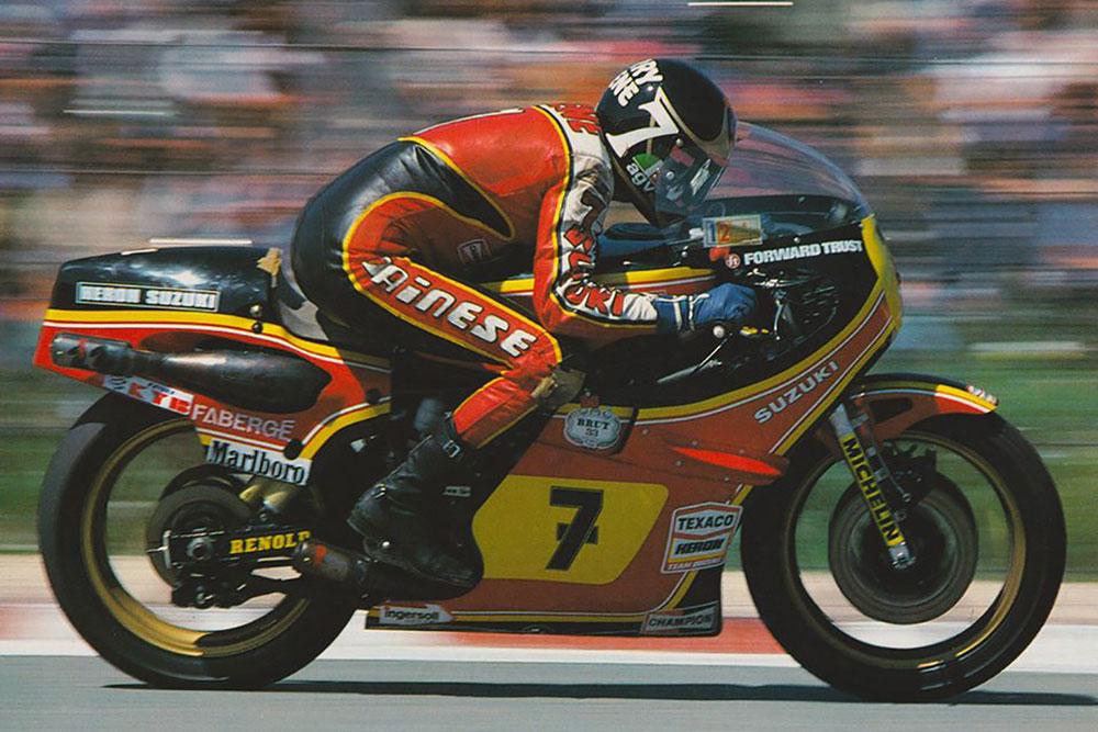Barry Sheene, primer campeón del mundo con Suzuki