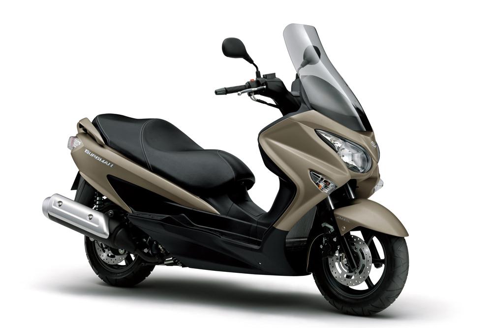 Suzuki Burgman 125 y 200 2017