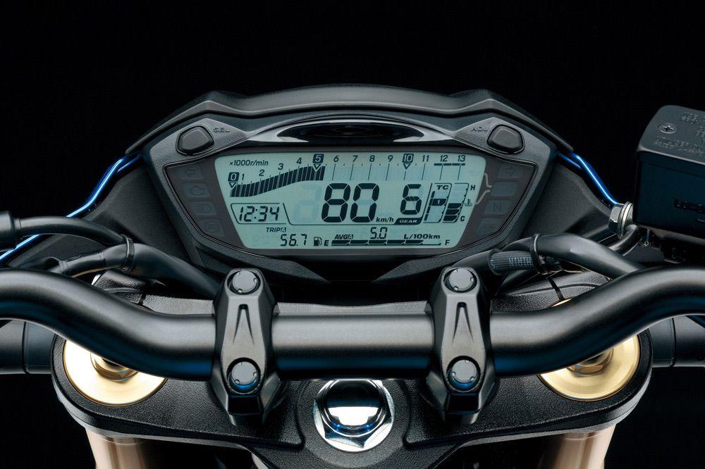 Instrumentación de la Suzuki GSX S 750