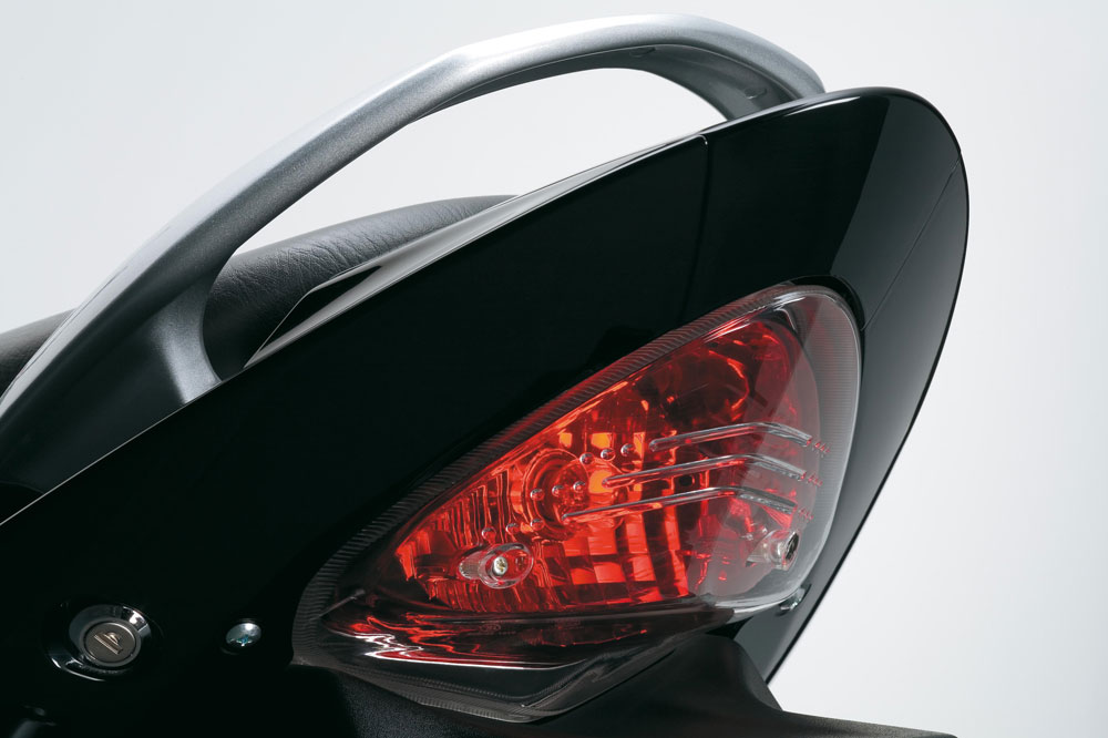 Grupo óptico trasero de la Suzuki Inazuma 250