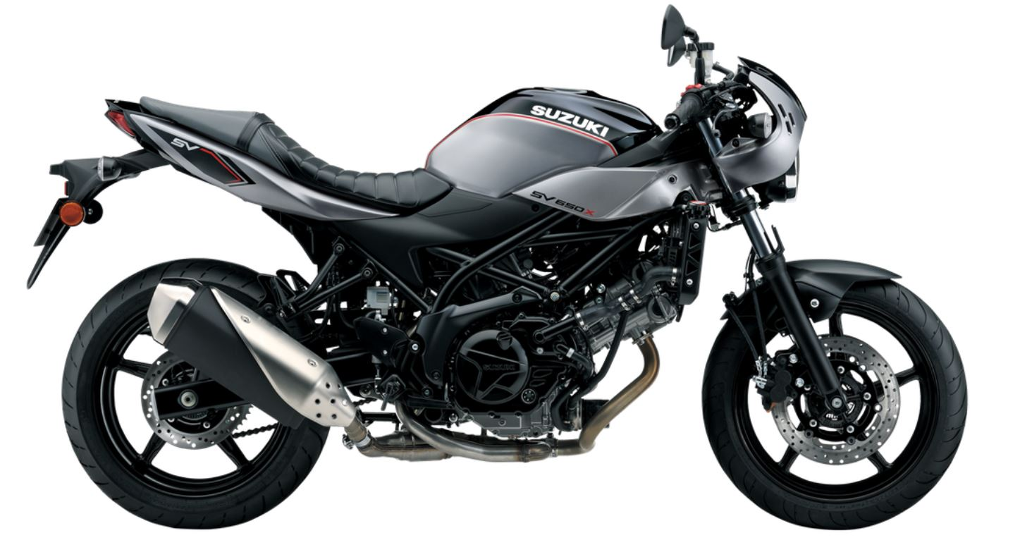 suzuki sv650x 2018 la nueva caf racer moto1pro. Black Bedroom Furniture Sets. Home Design Ideas