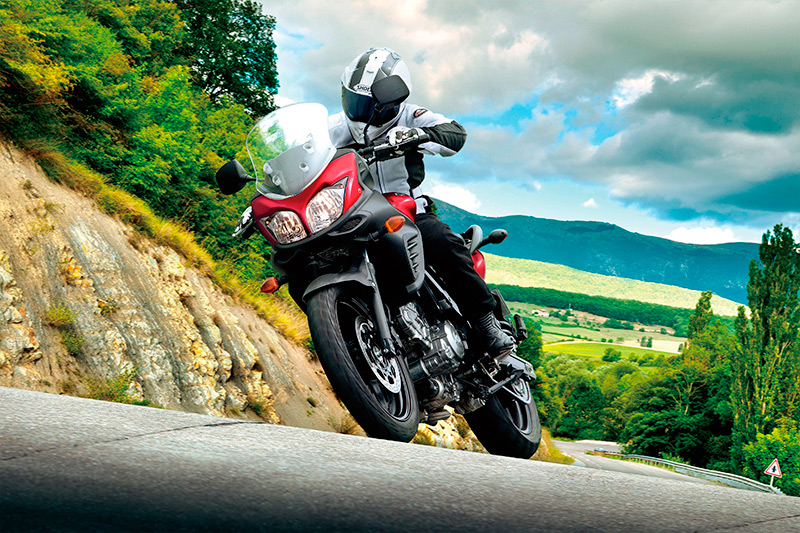Suzuki V Strom On Road