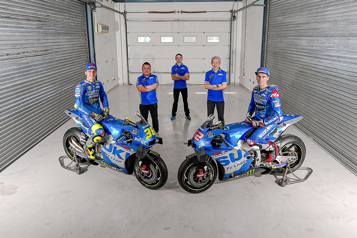 Suzuki continuará en MotoGP, como mínimo, hasta 2026