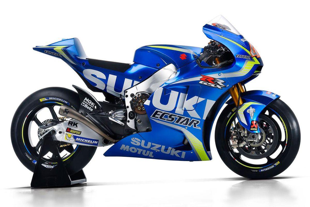 Suzuki GSX-RR MotoGP Michael Dunlop Toni Elias