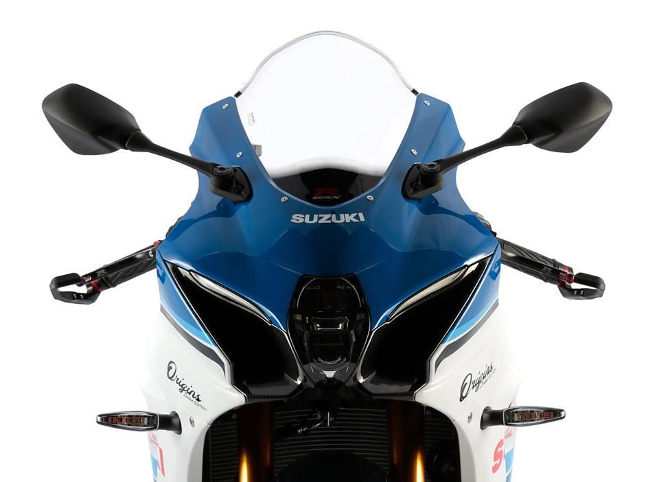 Suzuki GSXR 1000 R origins frontal cupula