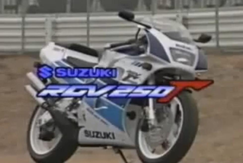 Suzuki RGV 250 vj22 vídeo