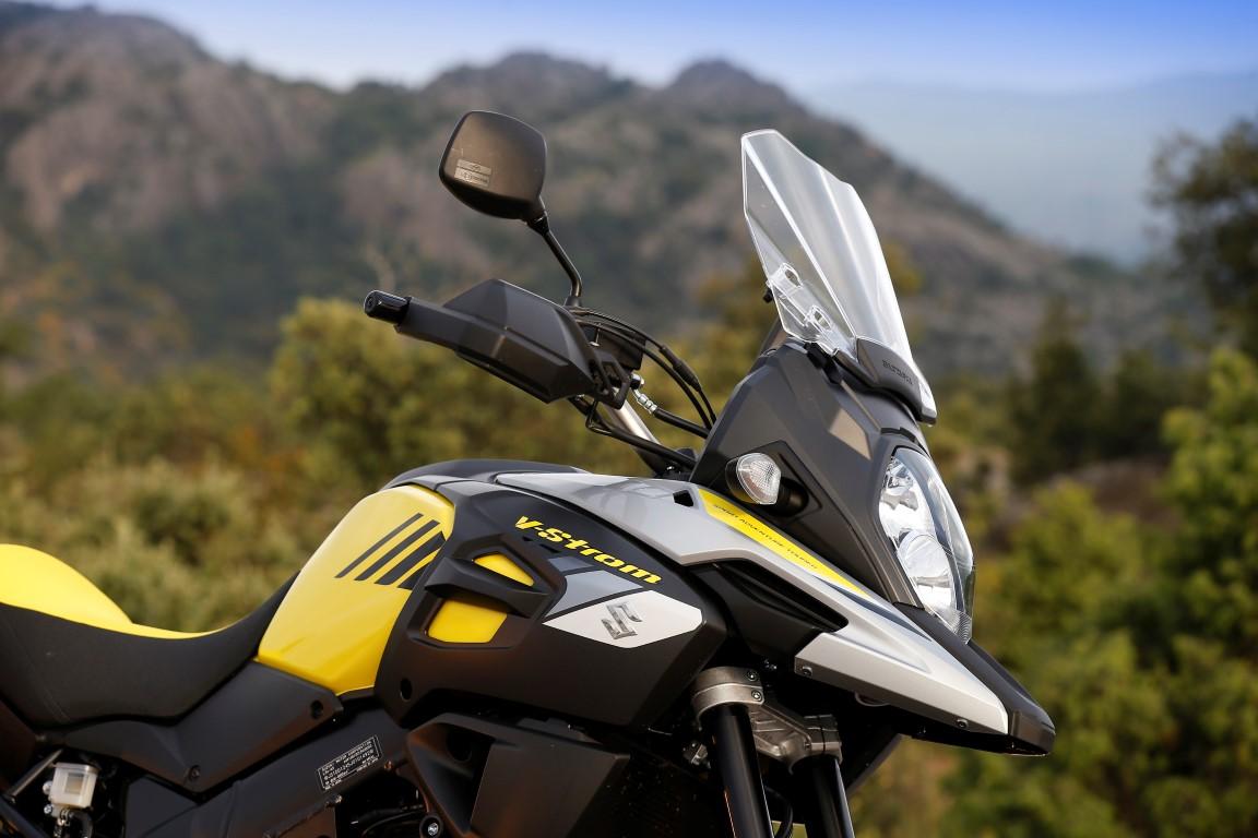 Suzuki VStrom 1000 frontal