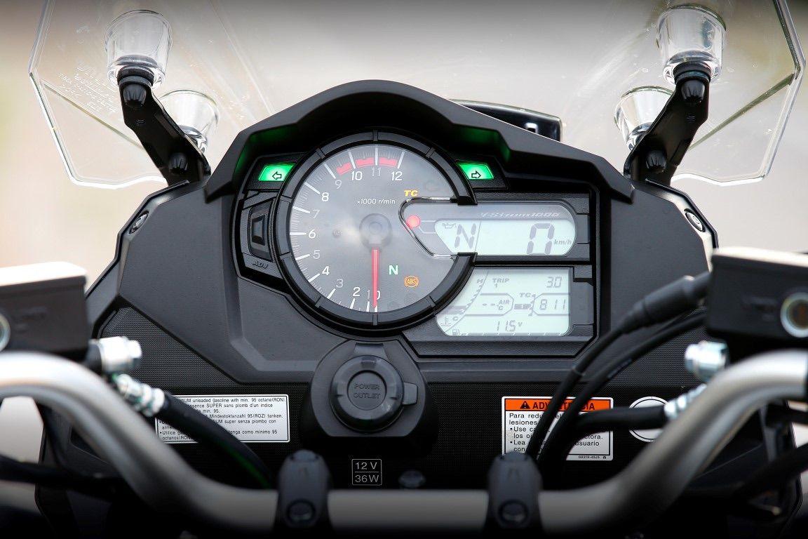 Suzuki VStrom 1000 instrumentacion