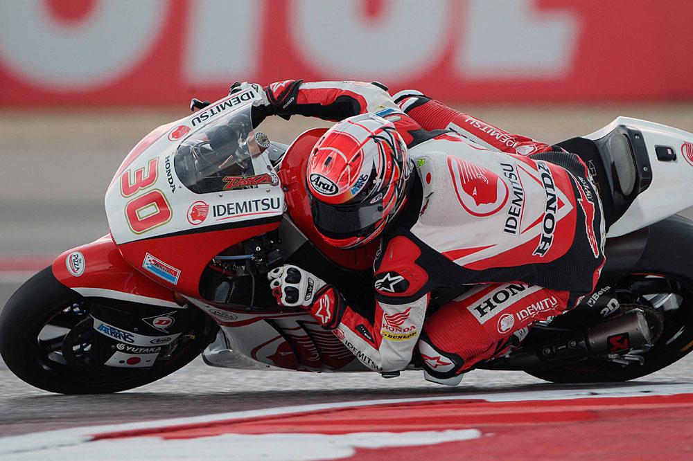 Takaaki Nakagami, victoria en Moto2 en el GP de Assen