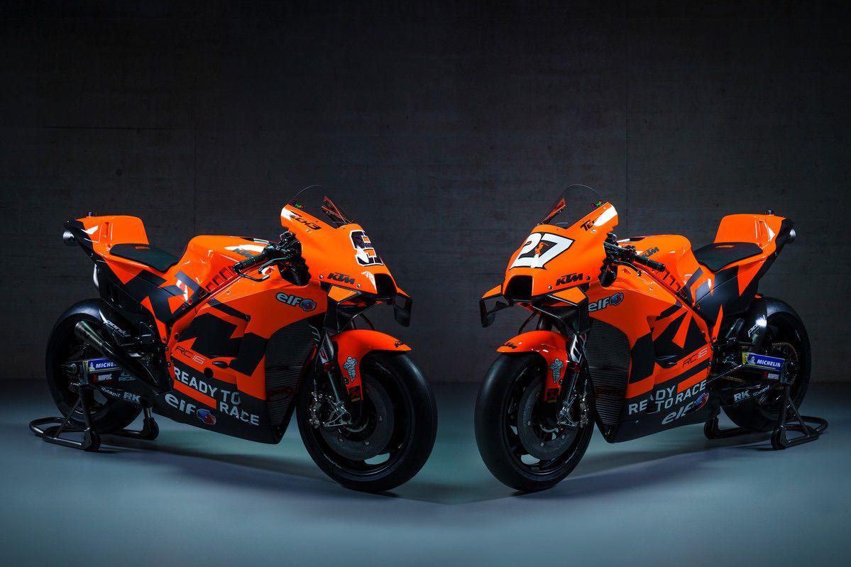 Presentación de los equipos KTM Factory Racing MotoGP 2021