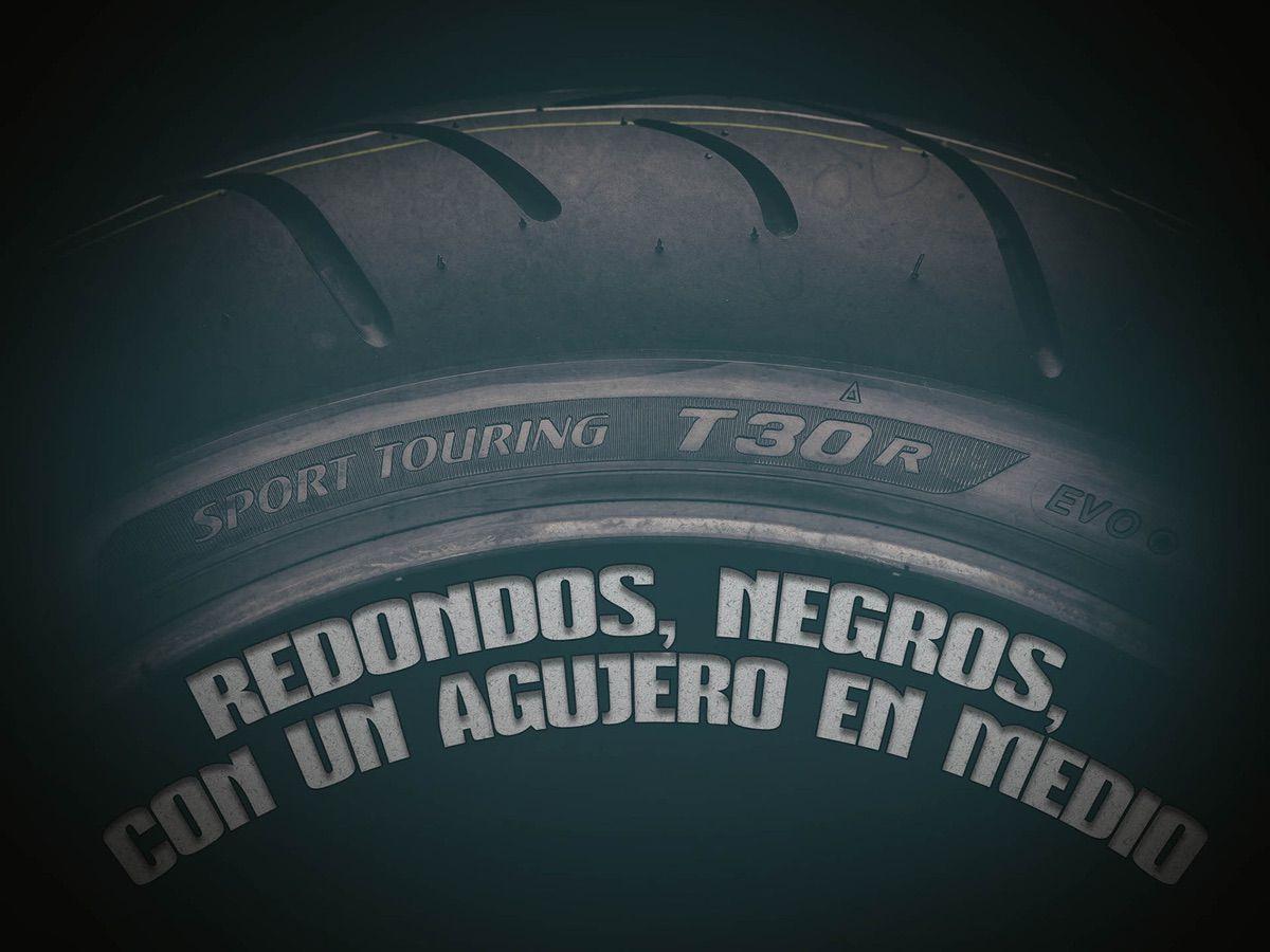 Reportaje neumáticos de moto