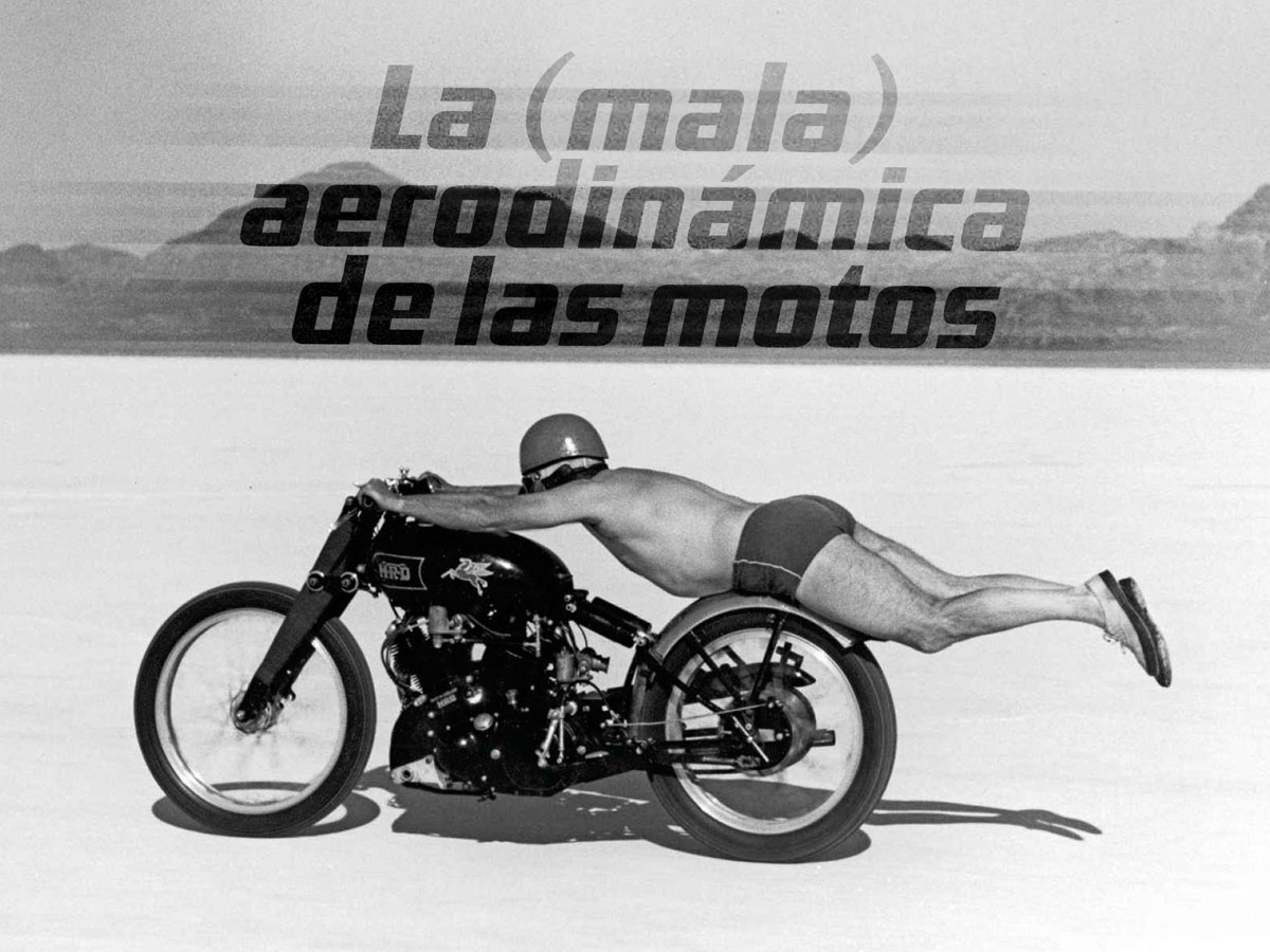 La mala aerodinámica de las motos