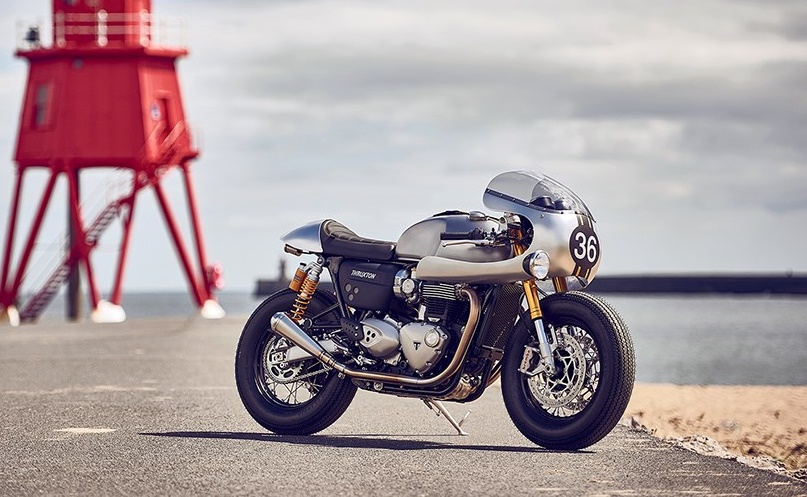 Triumph Thruxton R Down and Out Cafe Racers