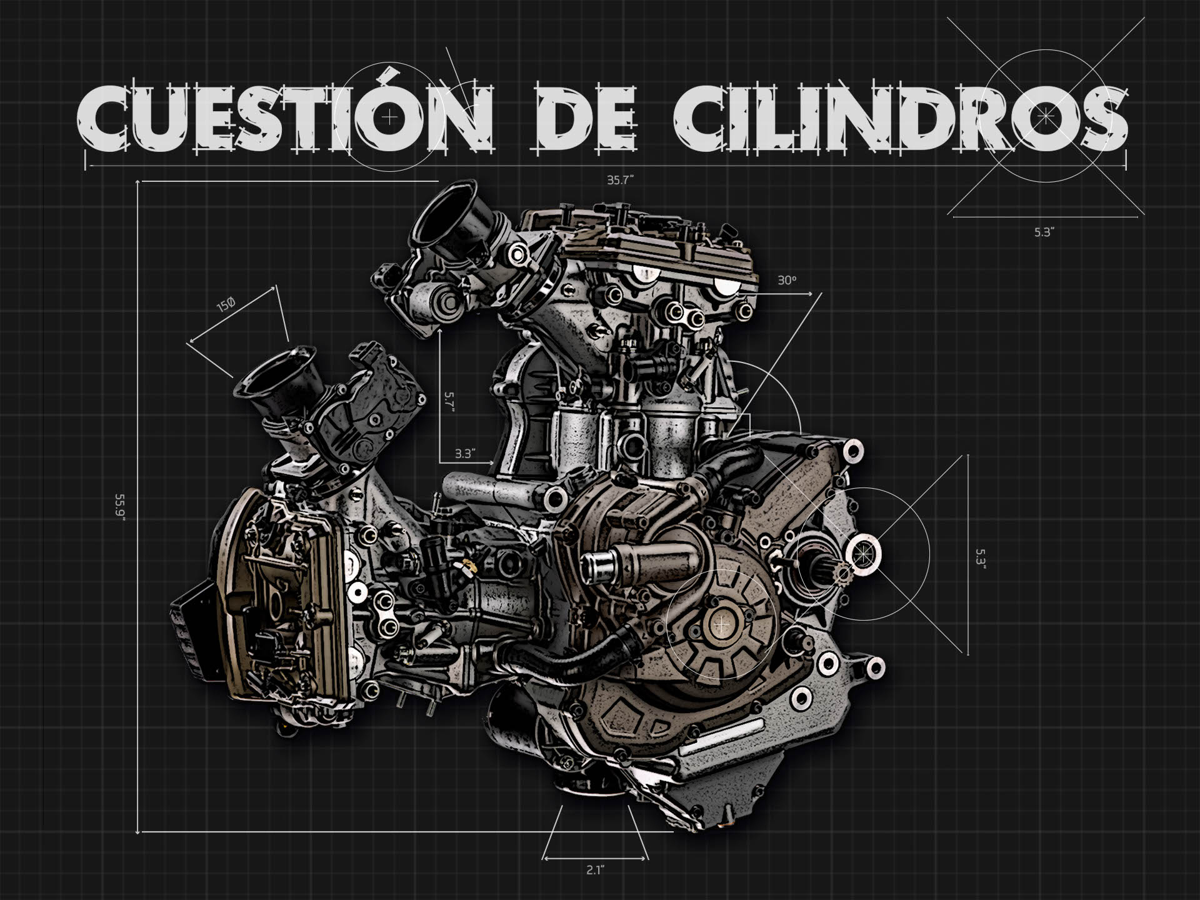 Tipos de motores de moto: Cilindros
