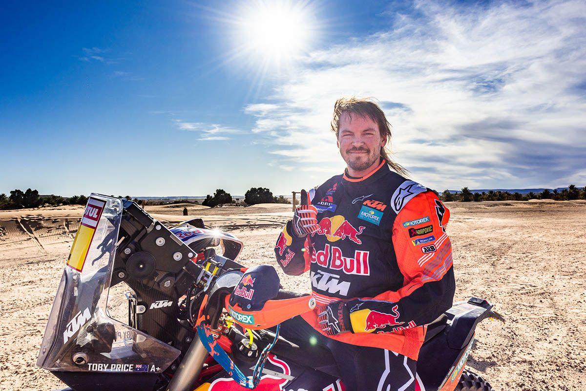 Toby Price Dakar 2020