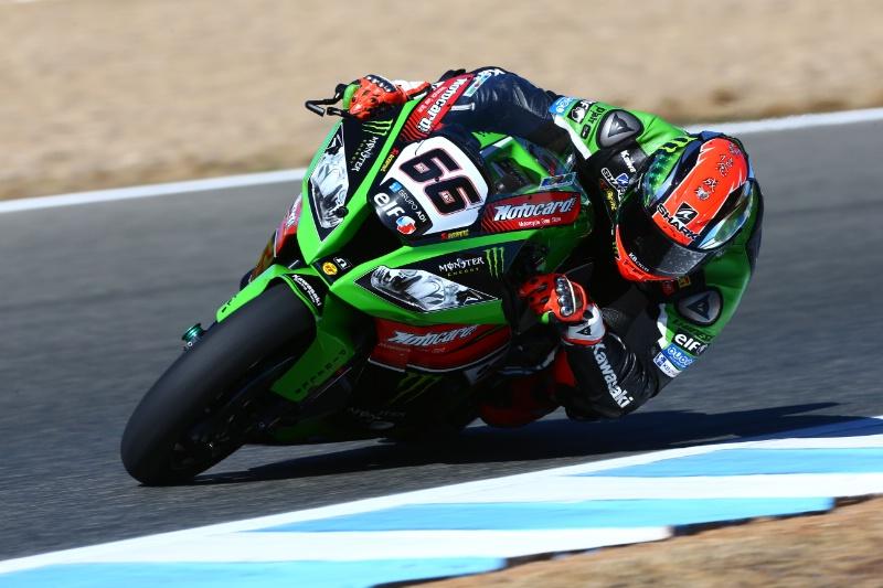 Tom Sykes renueva con Kawasaki 2 años