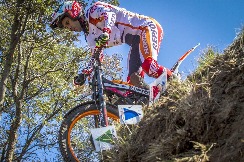 Toni Bou en el Campeonato de España de Trial