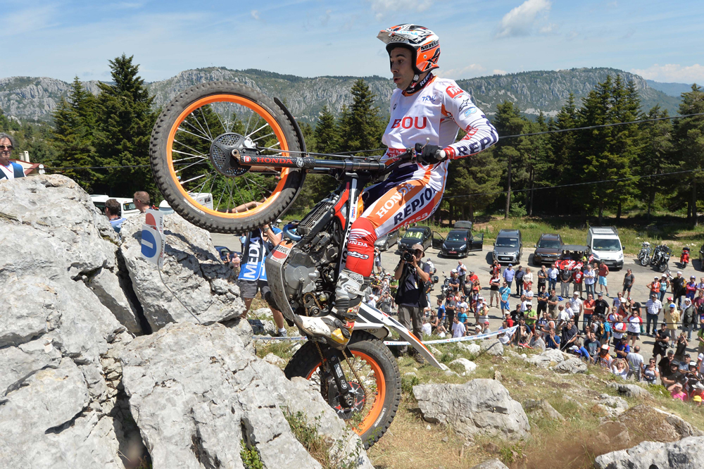 Toni Bou, Campeonato del Mundo de Trial