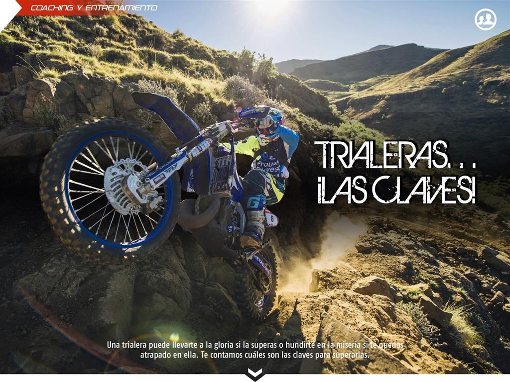 Trialeras en moto de enduro: las claves