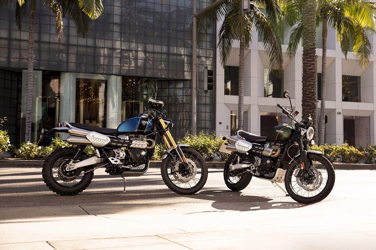 Triumph Scrambler XC y XE 2019