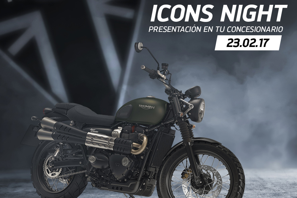 Triumph Icons Night