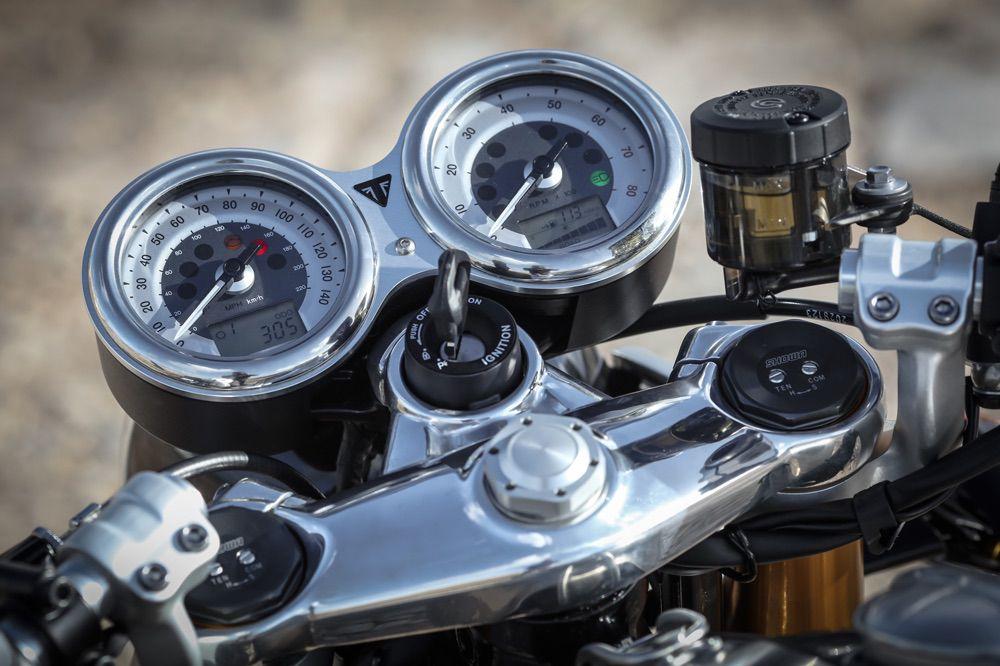 Cuadro de instrumentos Triumph Thruxton R