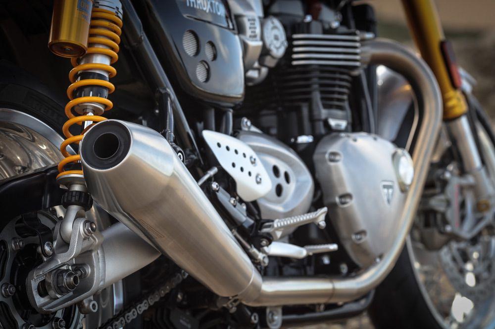 Silencioso de la Triumph Thruxton R