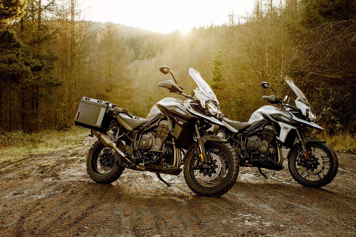 Triumph Tiger 1200 Desert y Alpine