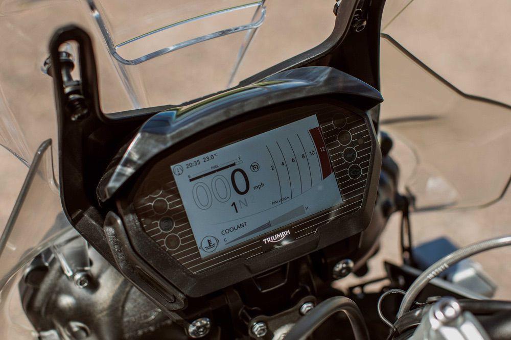 Cuadro de Instrumentos de la Triumph Tiger 800 2018