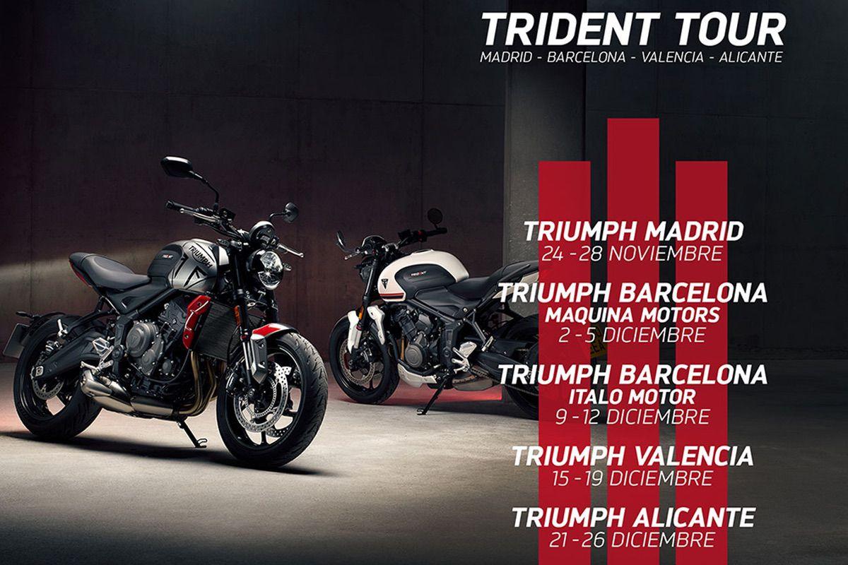 Fechas del Triumph Trident Tour