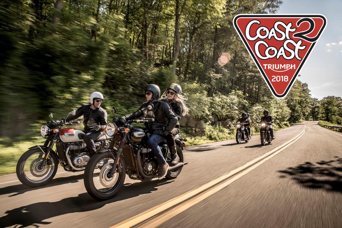 ¡Llega la Triumph Coast2Coast 2018!