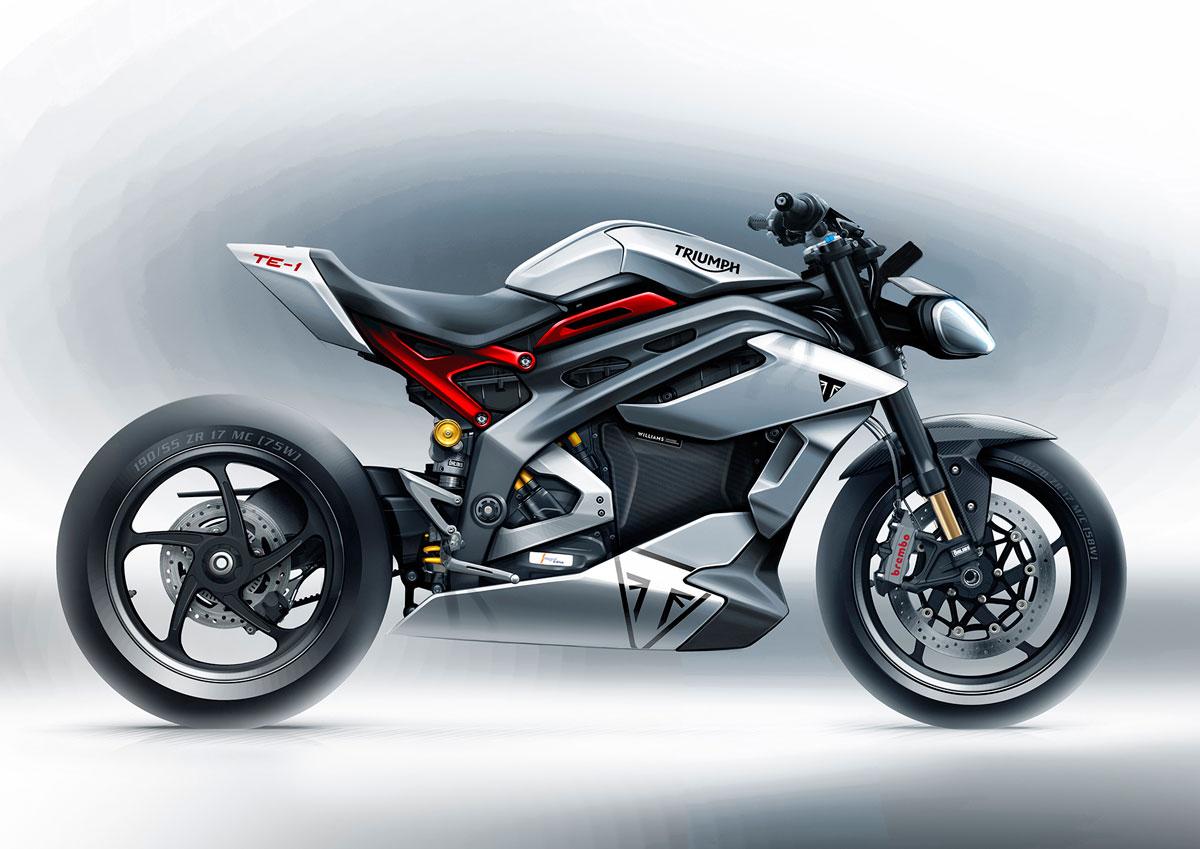 Triumph TE-1: La moto eléctrica de Hinckley