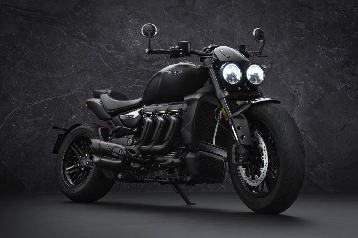 Triumph Rocket 3  Black
