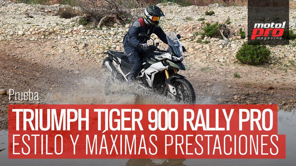 Vídeo | Prueba TRIUMPH TIGER 900 RALLY PRO