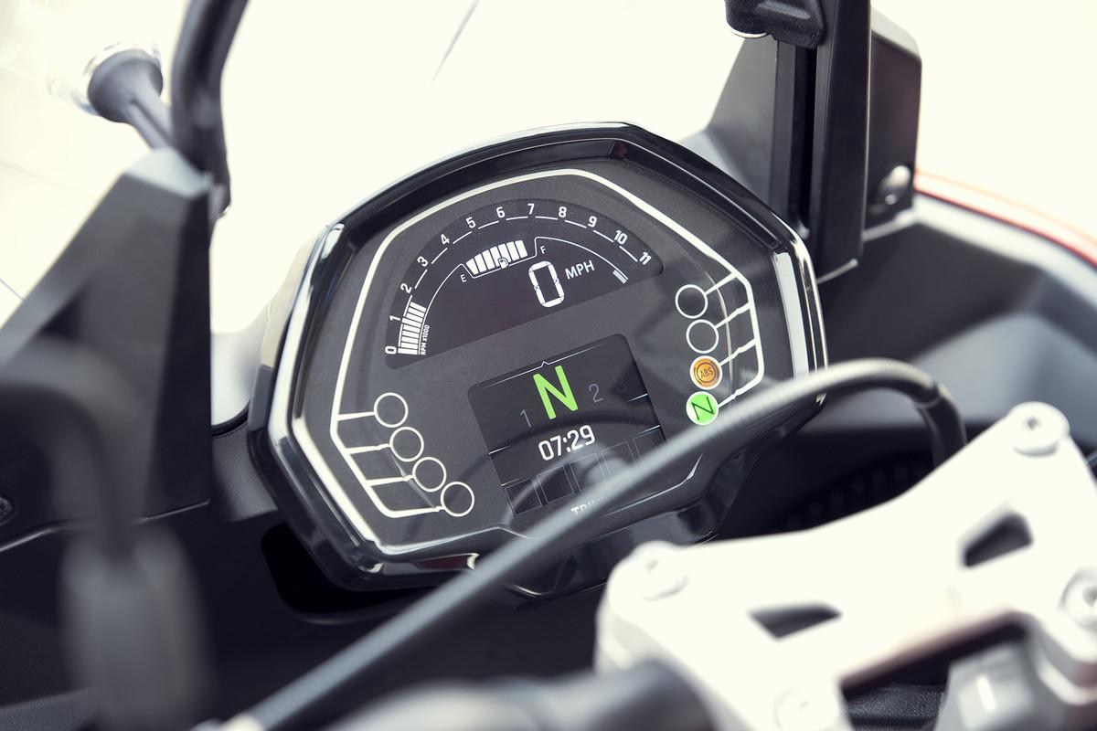 Nueva Triumph Tiger Sport 660: trail asfáltica para carnet A2
