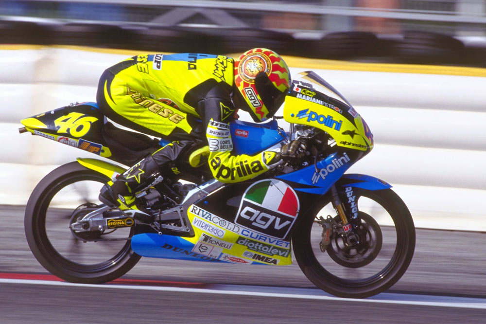 Valentino Rossi en 1996
