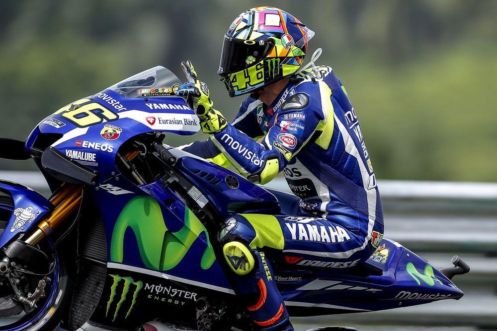 Valentino Rossi fue segundo en el GP de Malasia