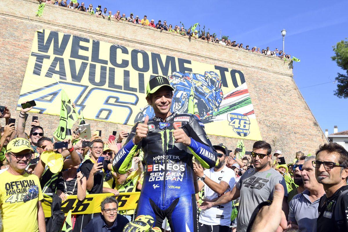 Valentino Rossi sigue siendo un gran valor mediático