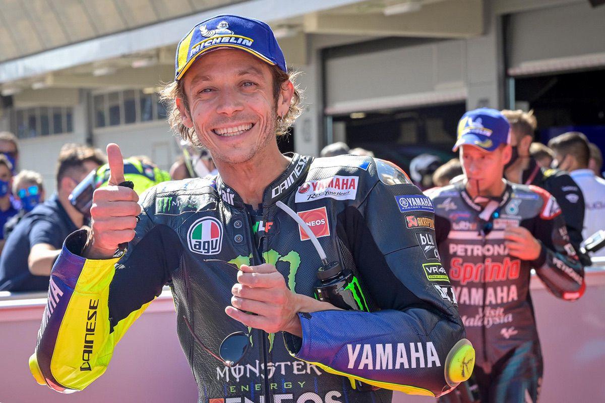 Valentino Rossi y Yamaha Petronas: Sí quiero