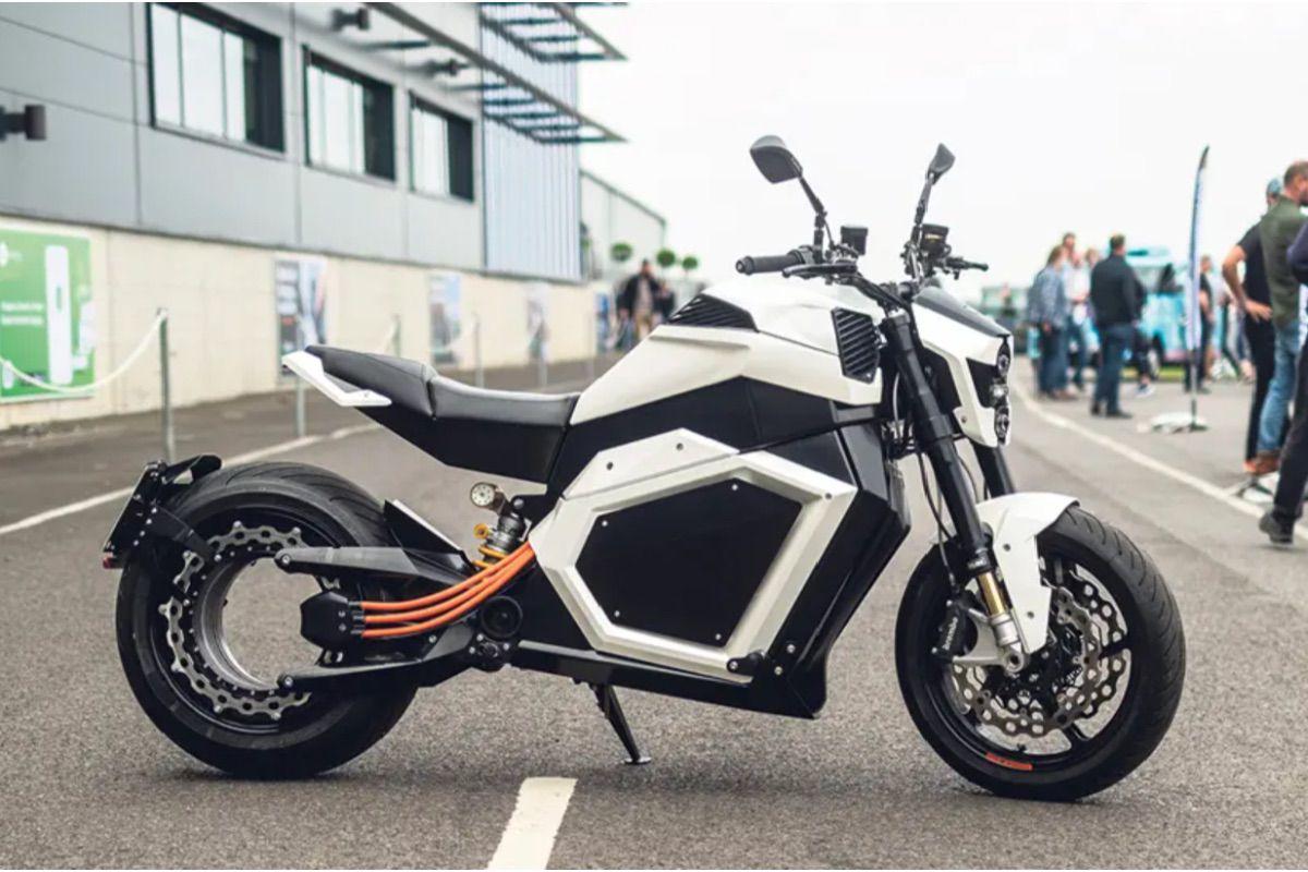 Una moto eléctrica diferente: Verge TS