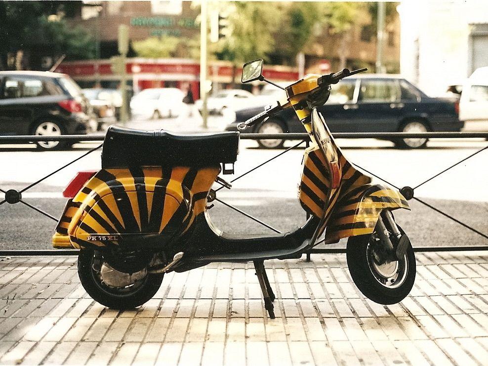 Moto Vespa de 2T