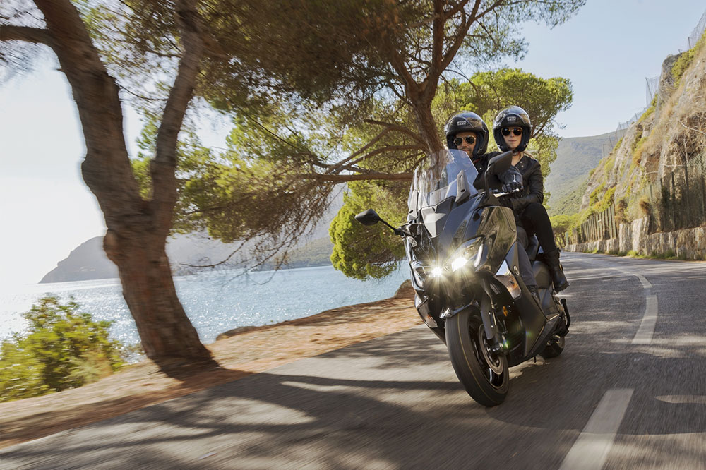 Viajar en scooter