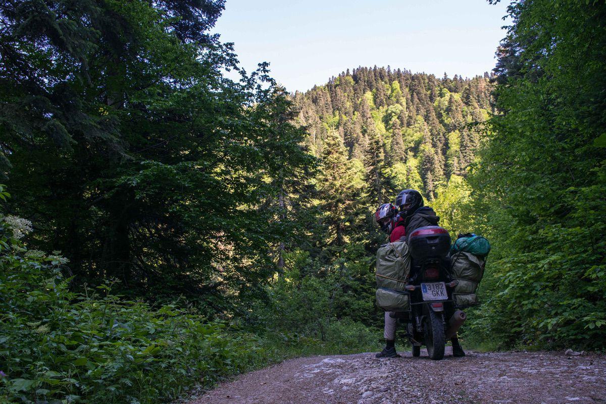 Viaje en moto 125 hasta Mongolia