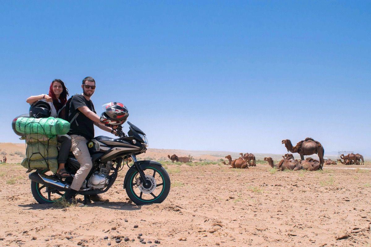 Viaje a Mongolia en una moto 125