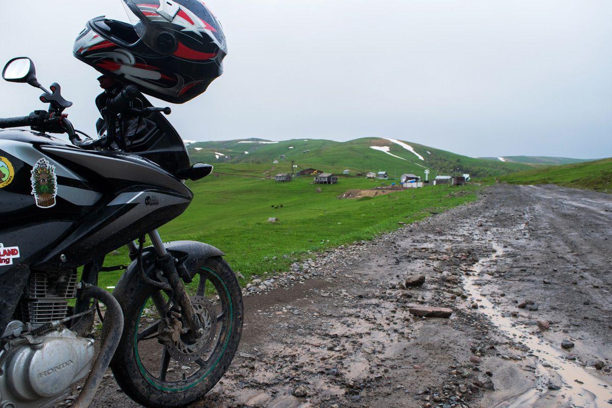 Viaje por Mongolia en una Honda CBF 125