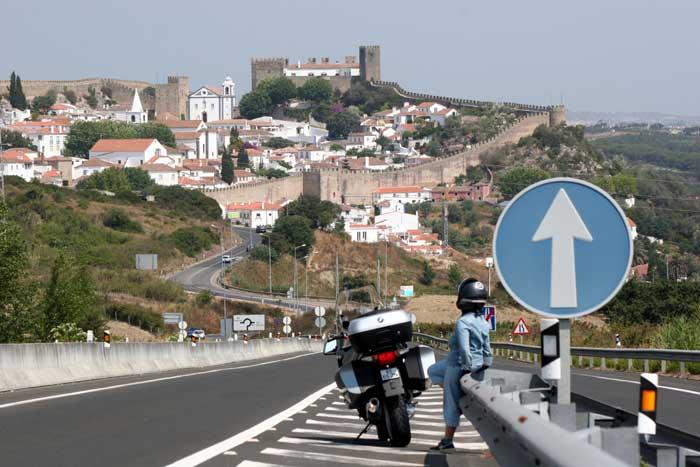 Viajar en moto por Portugal