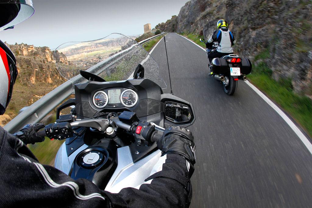 Viajar en moto: Descansos y evitar el cansancio