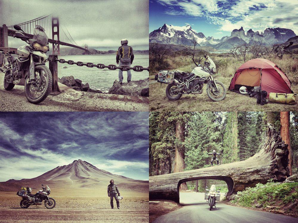 Viajes en moto: Polo Arnáiz
