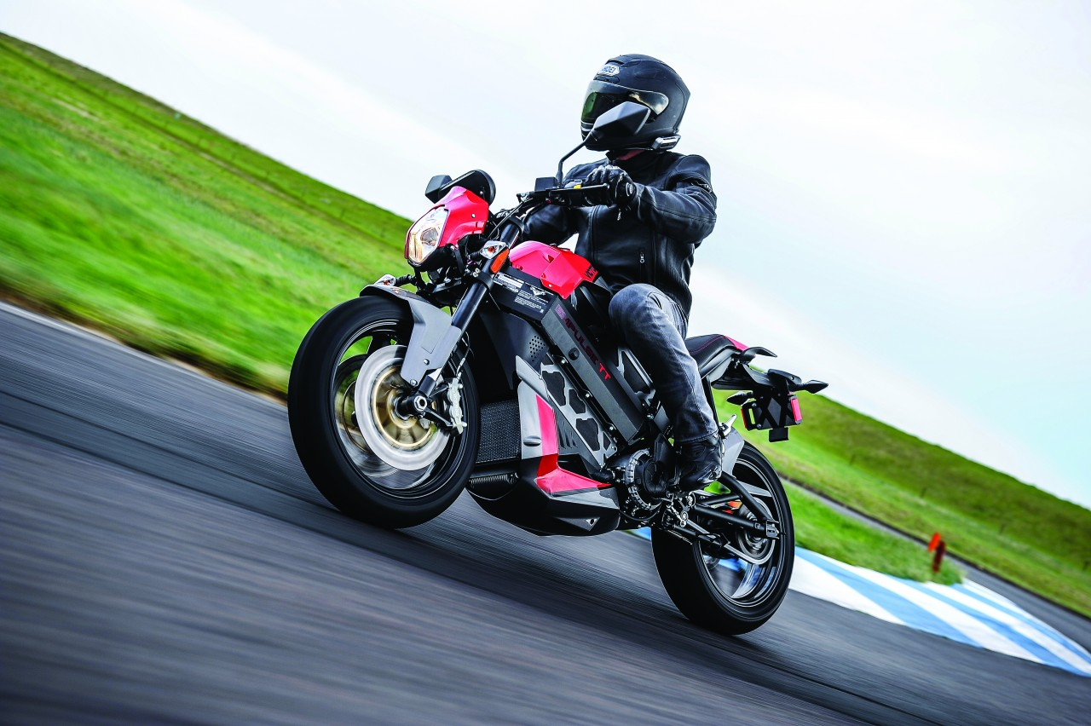 Victory Empulse TT 2016: La moto eléctrica de Victory